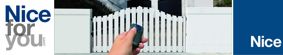 Nice for You Electric Gates from EasyGates.co.uk